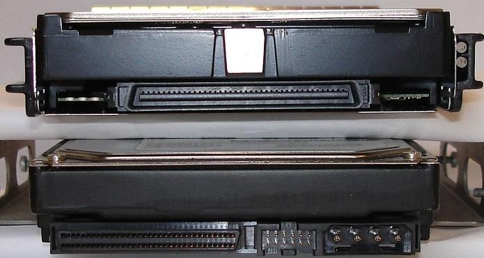 هاردهای اس سی اس ای,تبدیل SCSI,پورت هارد SCSI