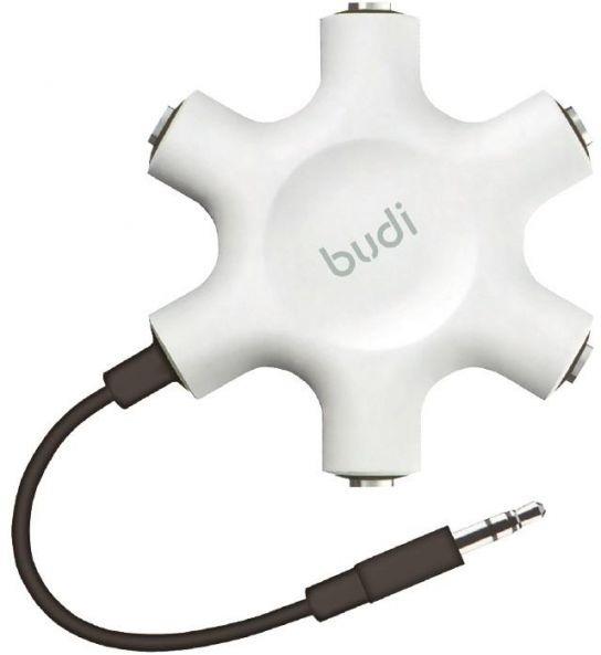 budi اسپلیتر صدا,1 به 5 هدفون,5 هدفون و اسپیکر به یک کامپیوتر