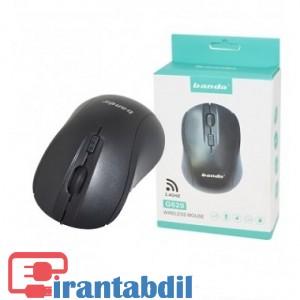 خرید عمده موس بی سیم G620B باندا, خرید همکاری موس وایرلس G620B باندا, فروش آنلاین ماوس بی سیم 620 باندا