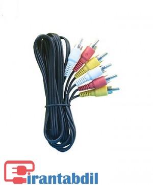 خرید عمده کابل 3 به 3 AV ده متری, فروش همکاری کابل 3 به 3 AV ده متری, خرید همکاری کابل صدا ده متری