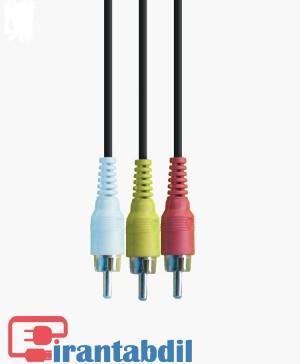 خرید عمده کابل سه به سه 3 متری,قیمت همکاری کابل 3 به 3 سه متری صدا, فروش انلایک کابل سه فیش صدا