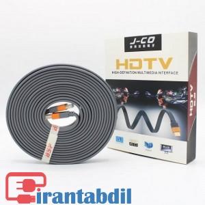 خرید عمده کابل HDMI فورکی (4K) 10 متری J-Co  دی نت, خرید همکاری کابل HDMI فورکی (4K) 10 متری J-Co  دی نت,فروش همکاری کابل اچ دی ام ای سرعت بالا دیجیتال 10 متری دی نت