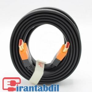 خرید عمده کابل HDMI فورکی (4K) 3 متری J-Co  دی نت, فروش همکاری کابل اچ دی ام ای سرعت بالا 3 متری دی نت , فروش همکاری کابل اچ دی ام ای HDTV فورکی ورژن دو 3 متری