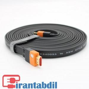 خرید عمده کابل HDMI فورکی (4K) 5 متری J-Co  دی نت , فروش همکاری کابل اچ دی ام ای دیجیتال 5 متری دی نت ,خرید همکاری کابل HDMI VER2 4K J-co پنج متری دی نت
