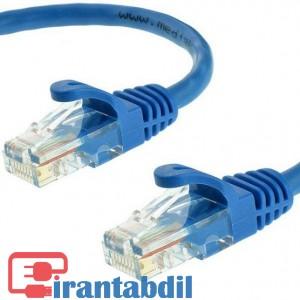 خرید عمده پچ کورد شبکه کت فایو 20 متری ایفورت , خرید همکاری پچ کورد شبکه کت فایو 20 متری ایفورت , فروش همکاری کابل شبکه Cat5 20 متری ایفورت