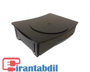 زیر مانیتوری چوبی ایران مدل m300 ,پایه زیر مانیتوری چوبی تنظیم ارتفاع,قیمت عمده زیر مانیتوری چوبی چرخشی