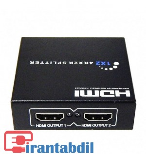 اسپلیتر 2 پورت اچ دی ام آی وی نت, قیمت همکاری هاب HDMI VNET , خرید عمده اسپیلیتور اچ دی ام ای