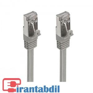 خرید عمده پچ کورد SFTP CAT6 سی متری برند کی نت,دارای سوکت RJ45,مشخصات کابل شبکه کت شش سی متری کی نت