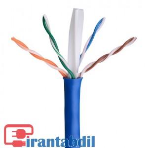 کابل شبکه Cat6UTP مدل 1254 برند کی نت پلاس,فزوش همکاری کابل شبکه Cat6 کی نت پلاس , خرید انواع کابل شبکه کته 6 یو تی پی کی نت پلاس
