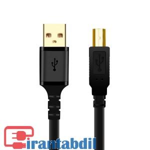خرید عمده کابل پرینتر به طول یک ونیم متر USB2 کی نت پلاس kpc4009,پخش عمده کابل پرینتر 1.5 متری کی نت پلاس,مشخصات فنی کابل پرینتر شیلدار یک ونیم متری کی نت پلاس