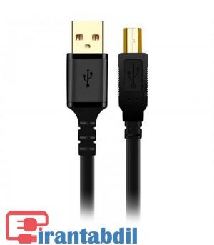 خرید عمده کابل پرینتر شیلدار پنج متری USB2برند کی نت پلاس,خرید همکاری کابل پرینتر پنج متریUSB2.0  کی نت پلاس,مشخصات فنی کابل پرینتر پنج متری کی نت پلاس KPC4011
