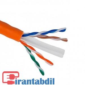 خرید عمده کابل شبکه بدون شیلدر نگزنس, قیمت عمده کابل شبکه نگزنس NEXAN CAT6 UTP