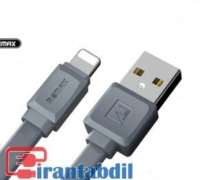 کابل ایفون 5 ریمکس فلت ,قیمت عمده کابل ایفون ریمکس مدل 129 کابل ایفون remax rc129i,