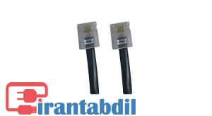 خرید عمده کابل تلفن بند خطی یک متر , فروش همکاری کابل تلفن بند خطی یک متر , خرید همکاری کابل تلفن یک متری معمولی