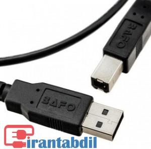 کابل پرینتر بافو,bafo usb cable,کابل یو اس بی بافو