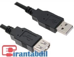 افزایش یو اس بی,کابل اکستندر یو اس بی,USB EXTENDER