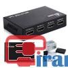 خرید عمده اسپلیتر 4 پورت HDMI, قیمت همکاری اسپلیتر چهار پورت اچ دی ام ای , فروش همکاری اسپلیتر یک به چهار اچ دی ام ای