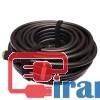 کابل اچ دی ام آی پانزده متری فراتک ورزن 2,خرید کابل فراتک 15 متری  FARATECH,HDMI CABLE فراتک پانزده متری