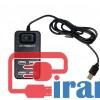 خرید عمده هاب ایکس پی کلید دار, هاب 4 پورت یک متری XP 809, قیمت تقسیم USB2