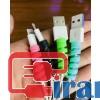 محافظ کابل شارژ آیفون رنگی,خرید عمده محافظ کابل شارژ گوشی,خرید عمده محافظ  سر کابل شارز موبایل