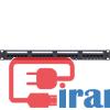 خرید پچ پنل 24پورت Cat5e UTP همراه باکیستون مارک کی نت, مورداستفاده در تجهیزات شبکه,پخش عمده پچ پنل 24 پورت cat5e UTP کیستون دار برند کی نت