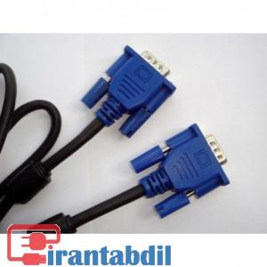 فروش همکاری کابل VGA پنج متری مارک کی نت,خرید آنلاین کابل وی جی ای پنج متری کی نت,مناسب برای انتقال تصاویر