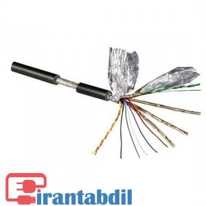 خرید عمده کابل اچ دی ام ای شیلدار یک ونیم متری, کابل HDMI شیلدار 1.5 متر, قیمت کابل شیلدار HDMI