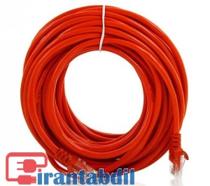 خرید عمده کابل شبکه 20 متری Cat5e دی نت,فروش همکاری پچ کورد شبکه Cat5e بیست متری دی نت,پچ کورد شبکه 20 متری Cat5e دی نت