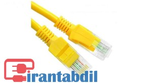 خرید عمده کابل شبکه سه متری Cat5e دی نت