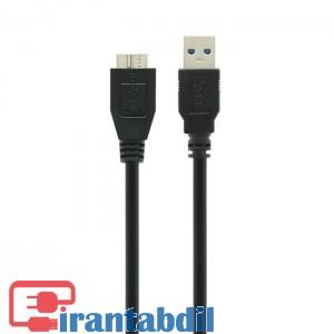 خرید عمده کابل هارد اکسترنال USB3 60CM مارک دی نت, قیمت همکاری کابل هارد اکسترنال ISB3 شصت سانت,کابل هارد اکسترنال USB3 شصت سانت