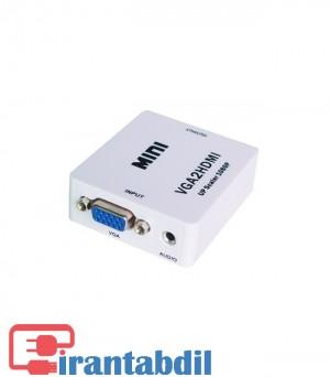 تبدیل VGA به HDMI مارک دی نت
