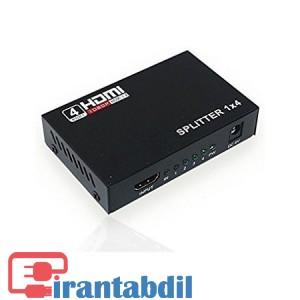 اسپلیتر چهار پورت HDMI فول اچ دی,اسپلیتر 1 به4 اچ دی ام ای