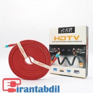 خرید عمده کابل HDMI VER2 4K J-co پنج متری دی نت, خرید کابل اچ دی ام ای برای انتقال تصاویر و صدا دیجیتال , کابل اچ دی ام ای کیفیت بالا 5 متری دی نت