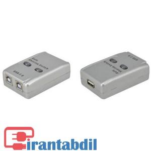 سوئیچ 2 پورت USB اتوماتیک ، هاب پرینتر 2 پورت