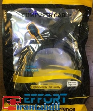 خرید عمده کابل برق 3 پین لپ تاپی 1.5 متری ایفورت , فروش عمده کابل برق آداپتور لپ تاپ ایفورت ,کابل برق لپ تاپ 1.5 متری ایفورت