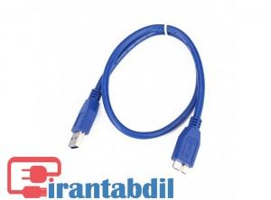 خرید عمده کابل هارد یو اس بی تری یک متری ایفورت , خرید کابل هارد در متراژ مختلف , فروش عمده کابل هارد اکسترنال USB3 1M ایفورت