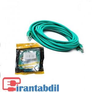 خرید عمده کابل شبکه Cat6 سه متری ایفورت, قیمت کابل شبکه کت سیکس سه متری ایفورت , فروش عمده پچ کورد شبکه در متراژ مختلف