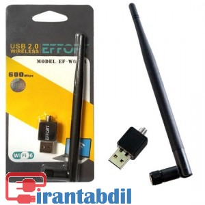خرید عمده دانگل شبکه بی سیم 600A ایفورت , فروش عمده دانگل بیسیم ایفورت , دانگل Wifi ایفورت مدل EF-W600A
