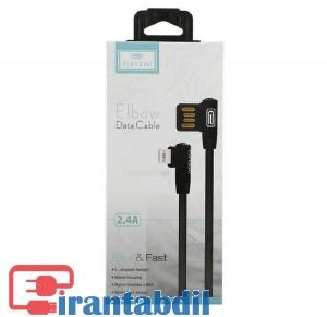 کابل شارژ گوشی آیفون 90 درجه مدل Earldom EC017
