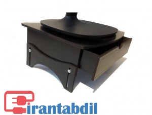 زیر مانیتوری چوبی تنظیم ارتفاع, زیر مانیتوری چوبی کشودار ERAN M300, خرید عمده زیر مانیتوری چوبی ایران m300