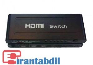 سوئیچ اچ دی ام آی 5 پورت,دیتا سوئیچ HDMI,HDMI SWITCH 5PORT