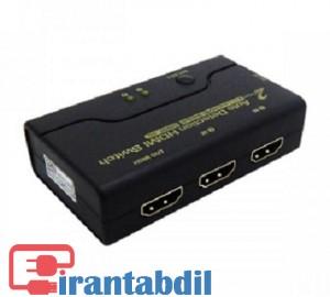قیمت همکاری سوئیچ دوپورت HDMI کی نت پلاس,خرید سوئیچ کی نت پلاس