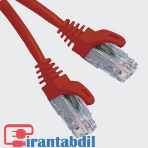 پچ کورد (کابل) شبکه 2 متر UTP CAT6 مارک K-Net Plus مدل KPN1034