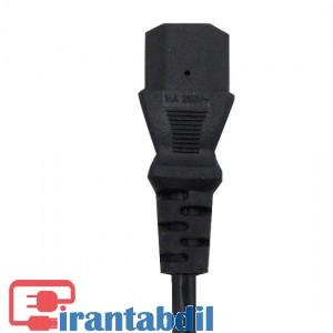 فروش عمده کابل پاور کیس به طول 1.8 متر برند کی نت پلاس,خرید همکاری کابل برق یک وهشت متری کی نت پلاس,مناسب برای انواع مانیتور وپرینتر