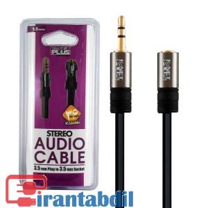 خرید عمده کابل افزایش صدا یک ونیم متری برند کی نت پلاس,مشخصات فنی کابل افزایش صدا کی نت پلاس,کابل افزایش طول صدا برند Knet Plus