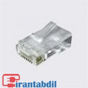 سوکت شبکه CAT6 شیلدار مارک K-Net Plus KP-N1073