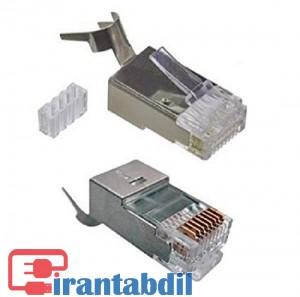 سوکت شبکه CAT6A STP مارک K-Net Plus KP-N1173