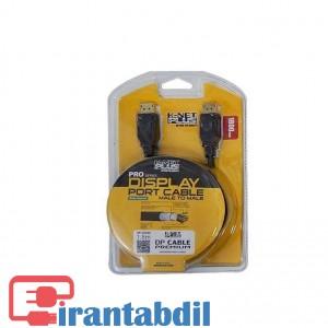 فروش همکاری کابل دیسپلی پورت به دیسپلی پورت 5 متری کی نت پلاس,فروش آنلاین کابل دیسپلی پورت پنج متری کی نت پلاس,جنس کابل پی وی سی