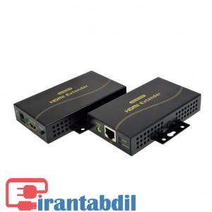 افزایش دهنده HDMI بر روی کابل شبکه 120 متری کی نت پلاس KPE830