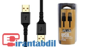 کابل لینک USB2.0 به طول 1.5 متر مارک K-Net Plus,مدل KP-C4012